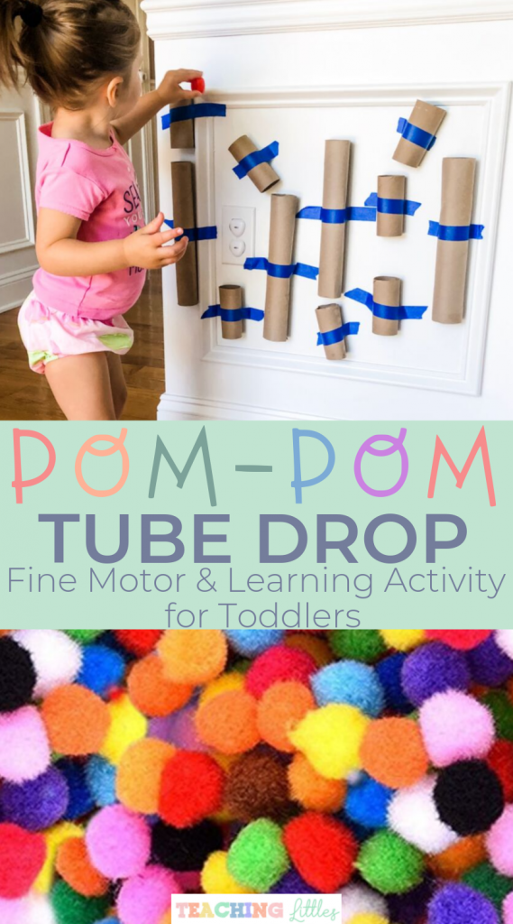 Fine motor developmental toddler activity to keep your toddler busy, learning & having fun. Easy & quick set up and cheap materials make for a great sensory activity for your little one.