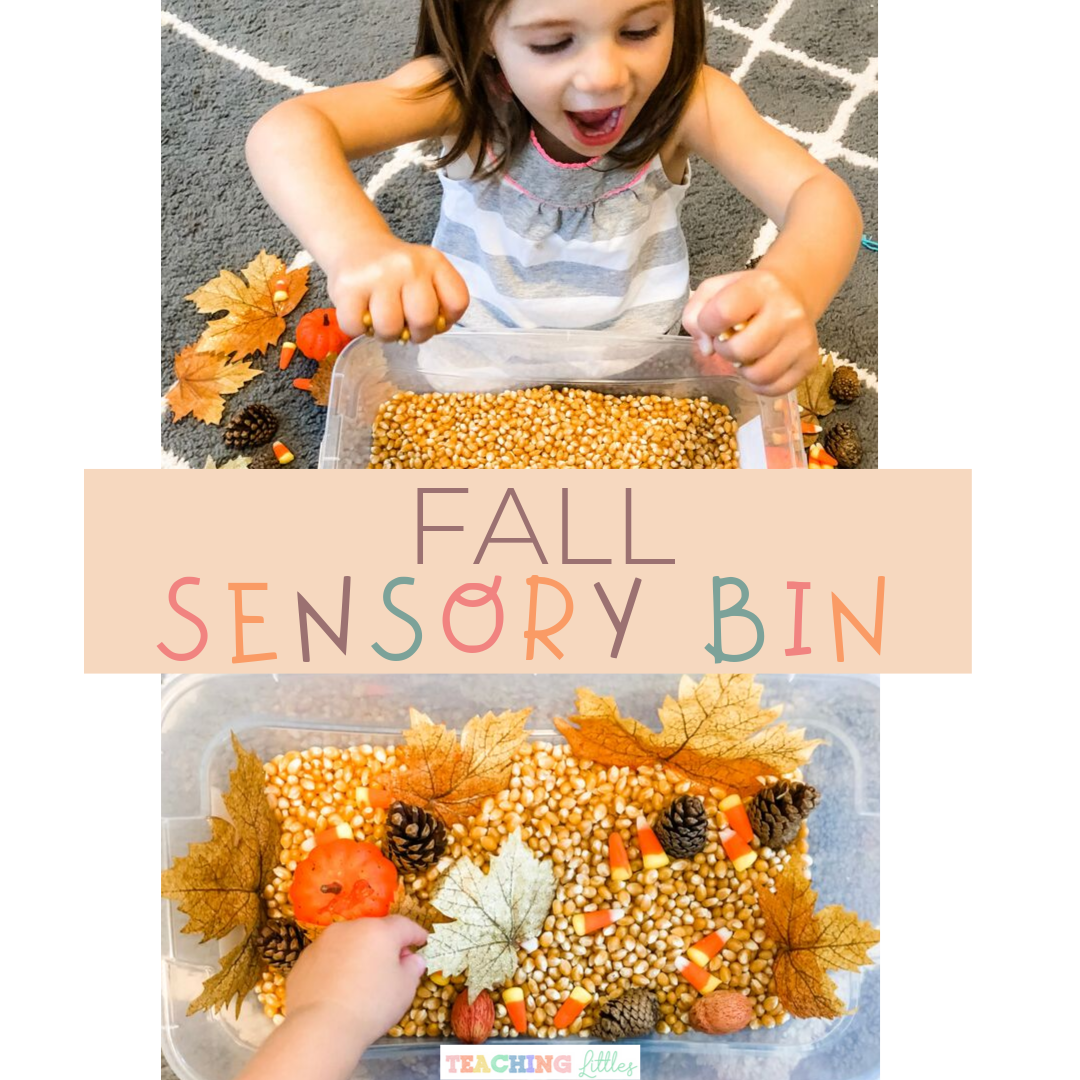 Create a Fall Sensory Bin for Your Toddler
