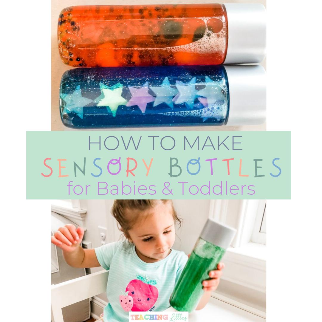 How to Make Simple DIY Glitter Sensory Bottles