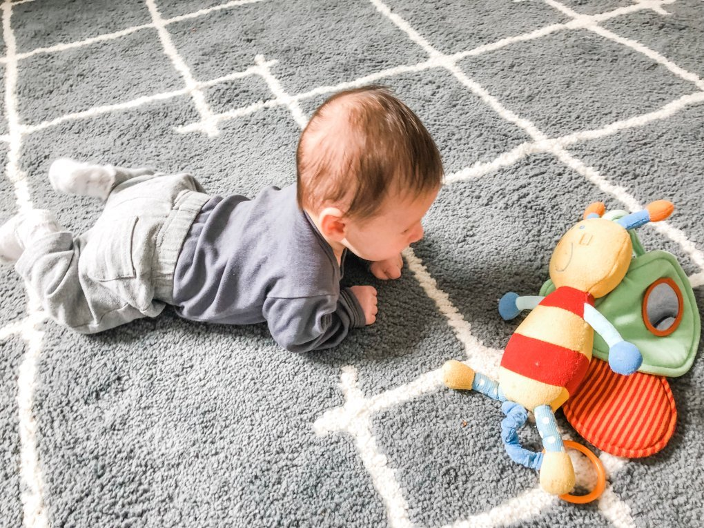 Are you trying to get your baby to crawl? Follow these easy tips and fun activities to get your infant to hit that milestone and get moving.