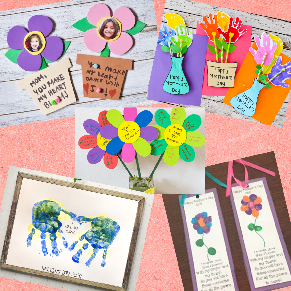 22 Adorable Mother's Day Gifts and Crafts From Your Little Ones