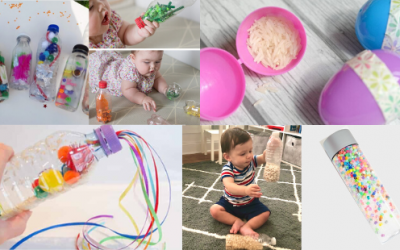 10 Inexpensive Sensory Shakers and Noise Makers