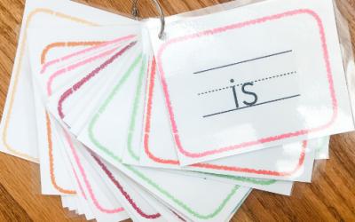 Free Printable Sight Word Flashcards
