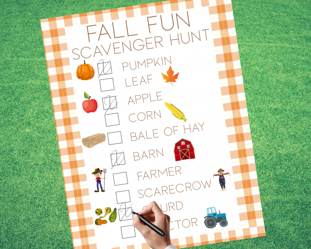 Heading to a farm or pumpkin patch this season? Bring along a fall scavenger hunt for your toddler or preschooler to learn the new fall sights