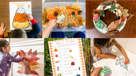 23 Fun and Simple Fall Activities for Toddlers