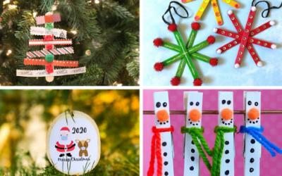 Easy DIY Christmas Ornaments For Kids