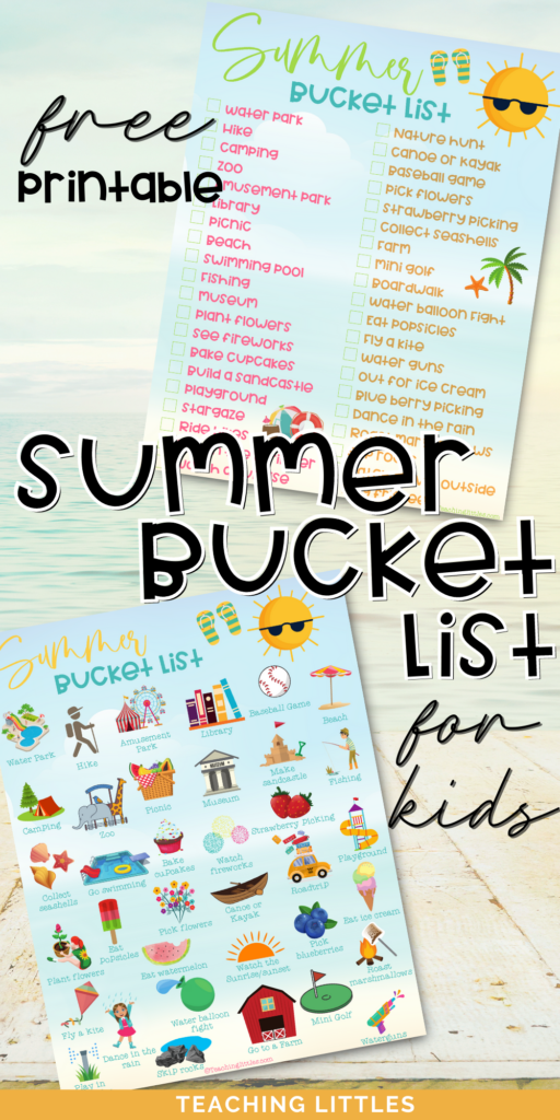 One of our favorite things to do each summer is to compile a bucket list of activities! Here is a summer bucket list for kids this summer 2021. Includes simple activities for toddlers and preschoolers through big kids.