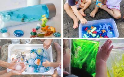 50 Ocean Themed Activities for Preschoolers