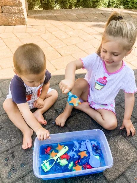 Looking for ocean themed activities for preschoolers? Look no further, here are 50 activities you and your preschooler will both enjoy!