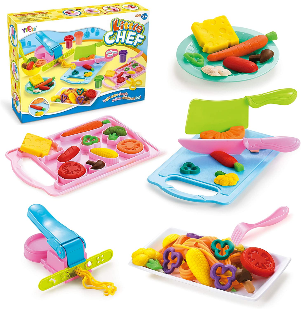 Play-Doh has many benefits and is the ultimate sensory experience for kids- check out these awesome benefits and cool sets.