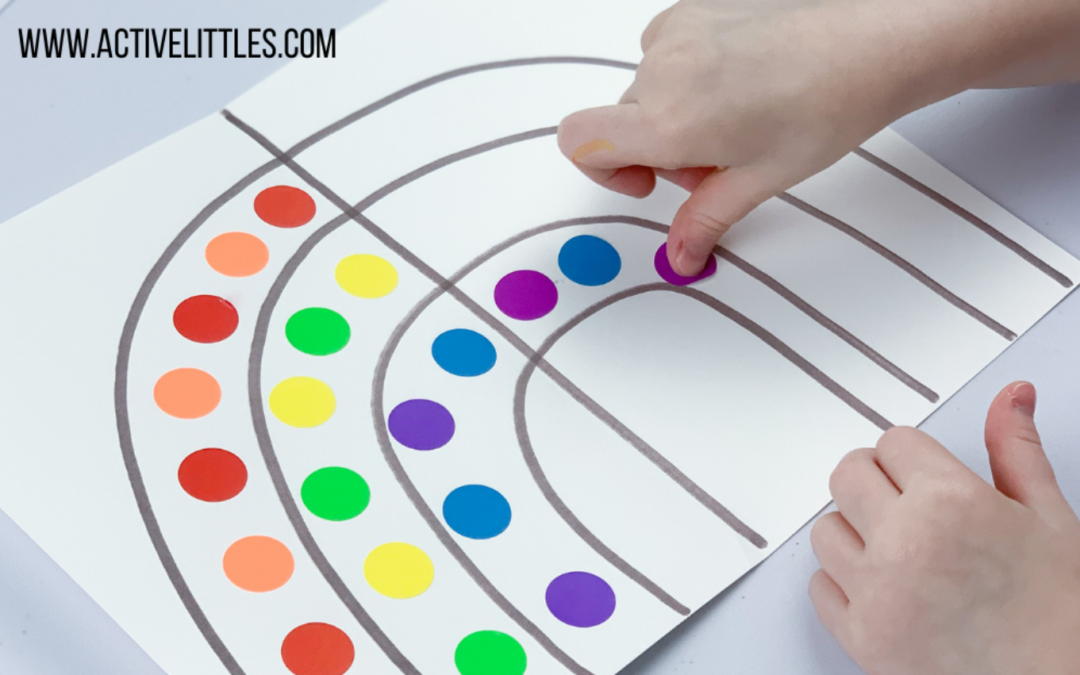 31 Fun and Simple Sticker Activities for Toddlers and Preschoolers