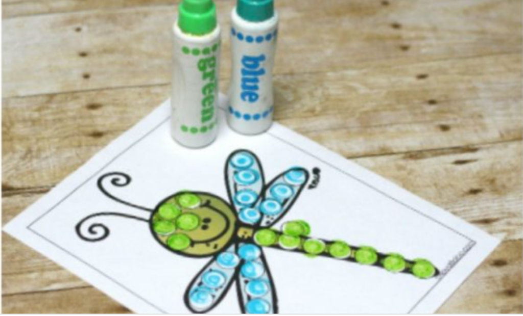 Stickers are a very versatile and fun way to incorporate fine motor skill practice into daily activities for your toddlers and preschoolers!