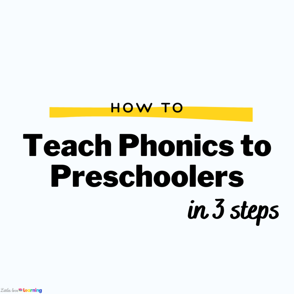 Learn strategies for how to teach phonics to preschoolers for early reading, letter identification, phonemic awareness, and decoding.