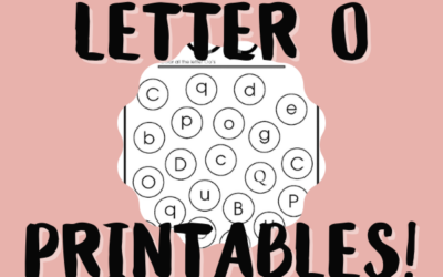 14 Letter O Printables: Help Your Child Learn the Alphabet
