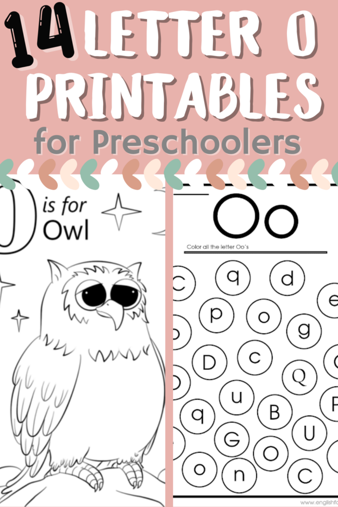 Are you working on letters of the week? Here are some awesome letter O printables that are perfect for your preschoolers and kindergarteners!